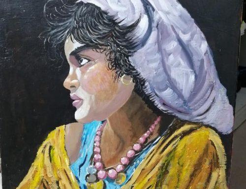 Zingarella – ritratto di donna